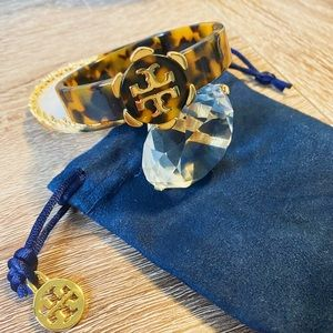 Brand new Tory Burch resin bracelet